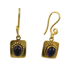 buy gold plated silver jewellery with real gemstones